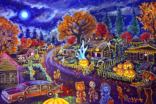 Trick Or Treat Houses