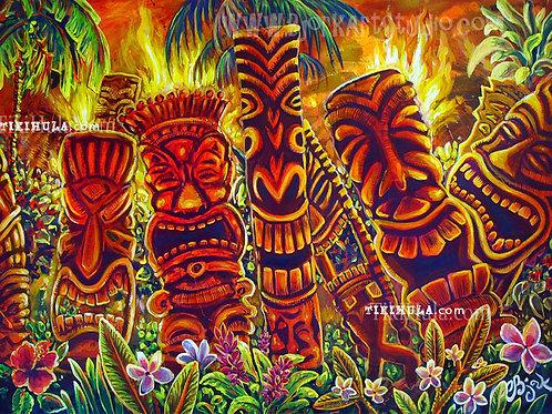Tiki Laughter