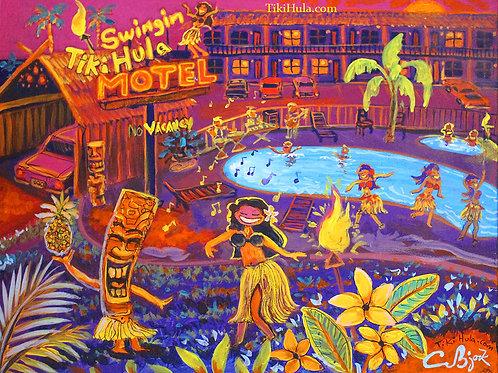 Swingin Tiki Hula Motel
