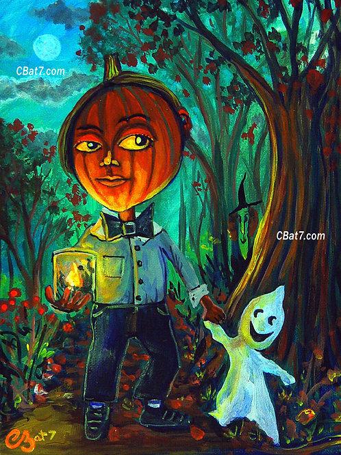 PumpkinBoy & Ghost