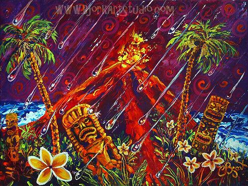 Tiki Hot Rain