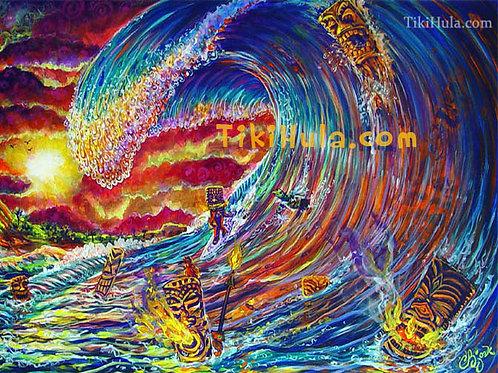 Tiki Big Wave