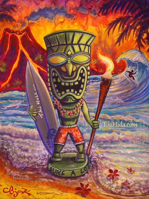 Tiki Surf A Lot
