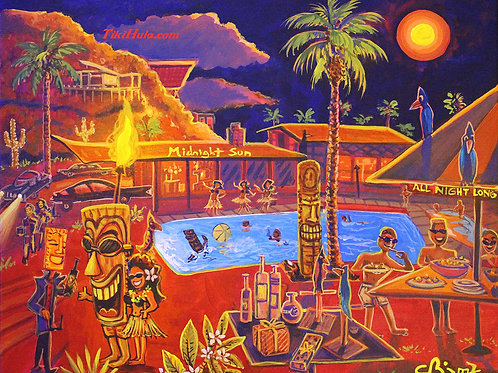 Midnight Sun Pool Party