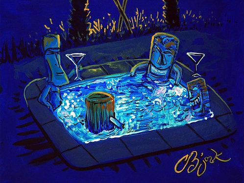 Tiki Hot Tub