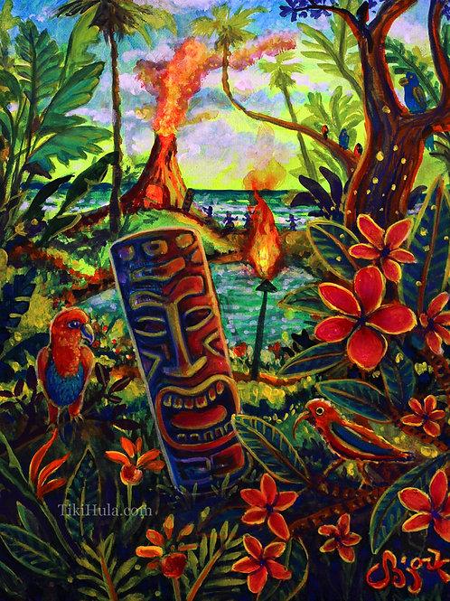 Tiki Island Garden