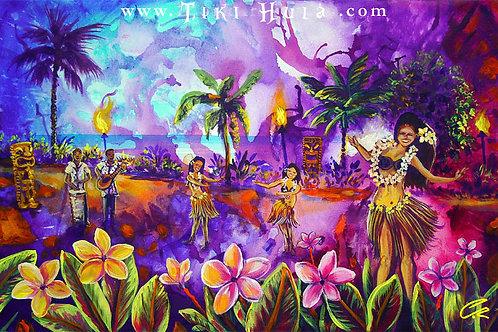 Purple Hula Luau (Rare)