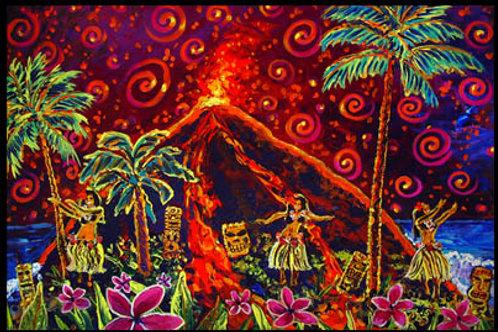 Energetic Tiki Hula