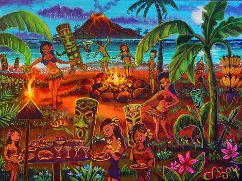 Tiki Hula Beach Celebration