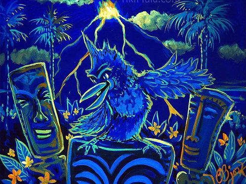 Tiki Blue Bird