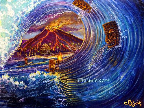 Tiki In Wave