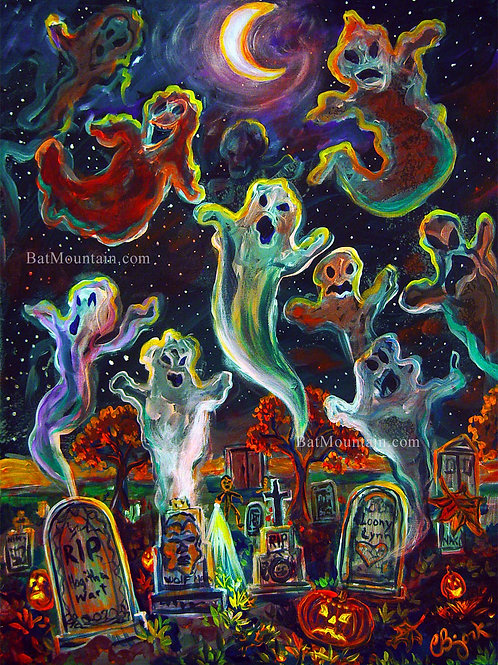 Graveyard Ghosts 1