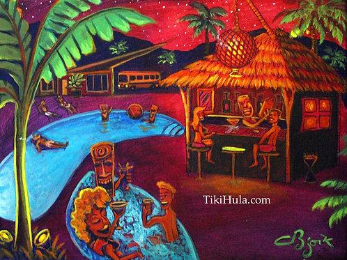 Pool Party Tiki Bar
