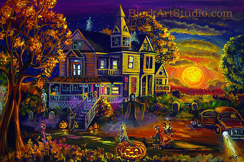 Trick Or Treat Haunted House
