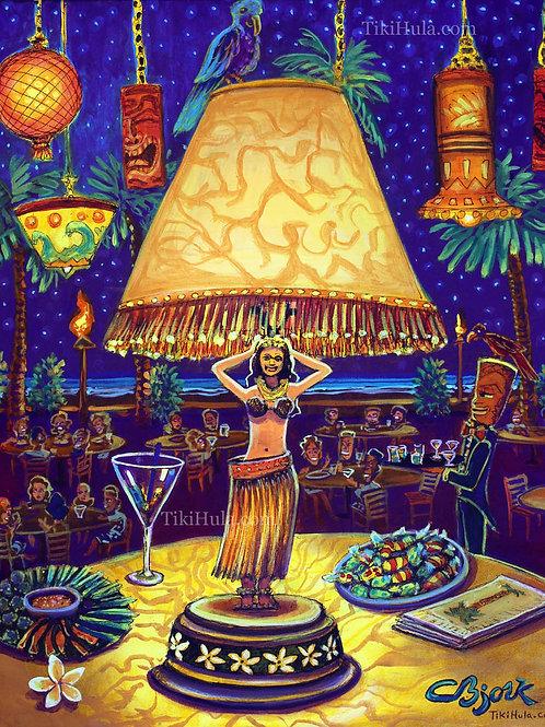 Hula Dinner Lamp