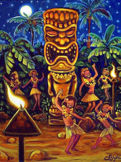 Tiki Hula Dance