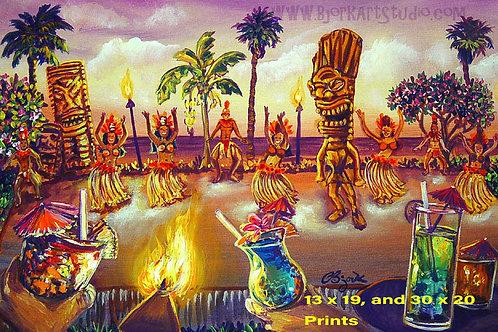 Luau Tiki Dance