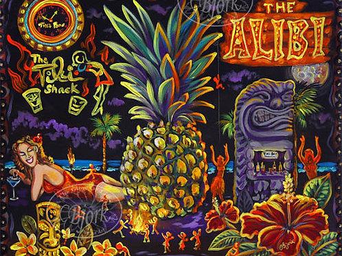 Tiki Lounge The Alibi
