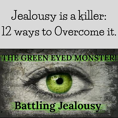 12 Ways to overcome jealousy
