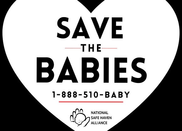 Save the Babies Sticker