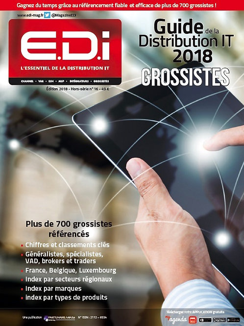 EDI - 2018 IT Distributors Guide with subscription