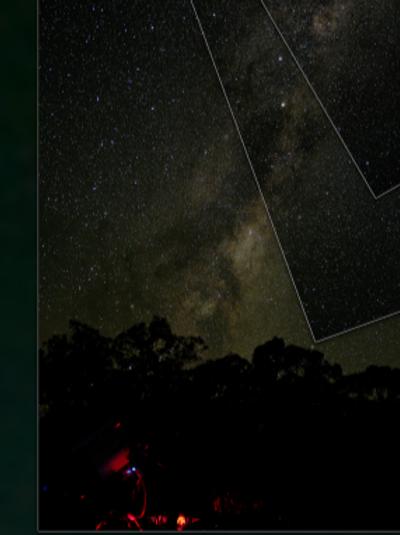 Milky Way Downunder