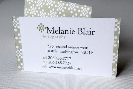 Melanie Blair Business Card