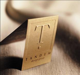 Tandem Design Business Card