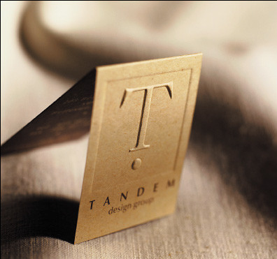 Tandem Design Business Card