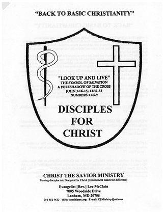 Disciple for Christ