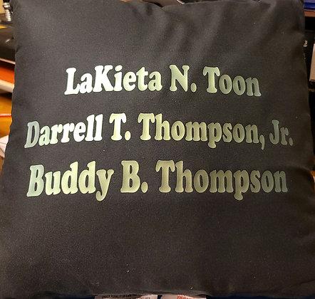Family Name Shirt