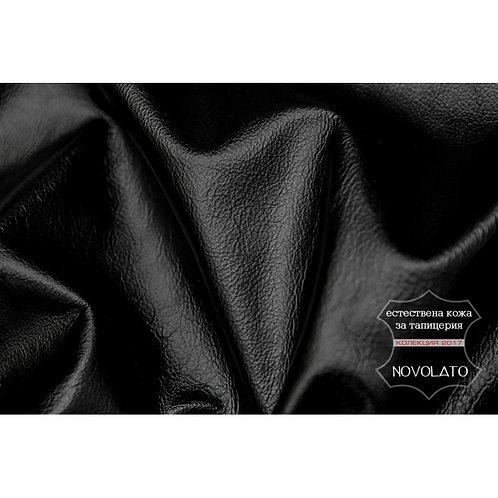 Естествена кожа - NOVOLATO Black