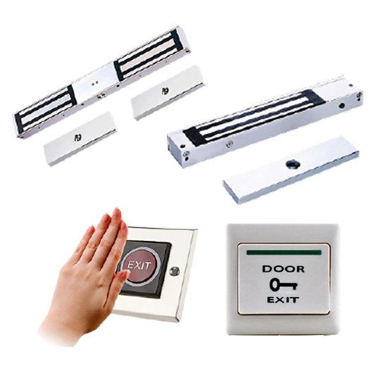 EM Lock with QR Code Door Access (SQR-A2-QR) & (SEM-A3-Lock)