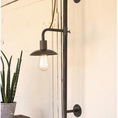 Vertical Sliding Wall Lamp