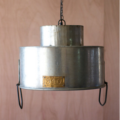 Double Cylinder Metal Light