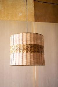 Rattan Cylinder Pendant Light