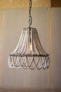 Boho Wooden Bead Light