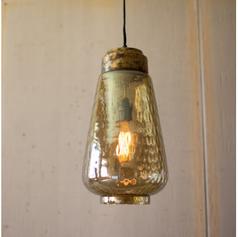 Smoky Luster Glass Pendant Light