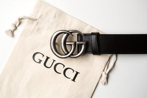f5ac9054a58 Women s Double G Silver Belt w  Gucci Logo Dust Bag!
