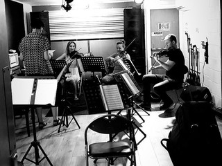 Recording Session London String Group Re