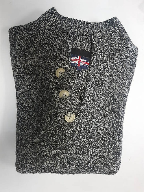 Soul of London Charcoal Sweater 192302