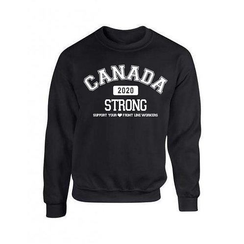 Delhi Collection -  Canada Strong Crewneck