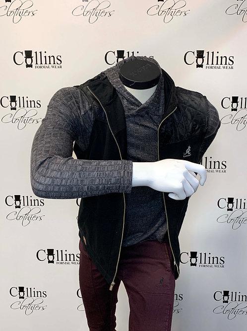 Kangol Hooded Sweater (Charcoal)