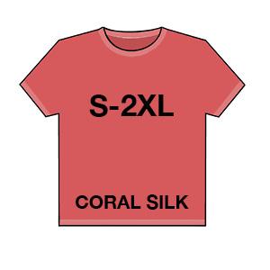 044 coral silk
