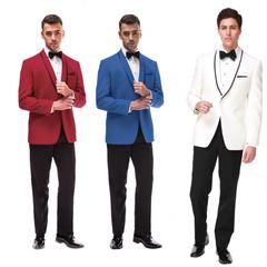 Colour Shawl Tuxedos by Ike Behar