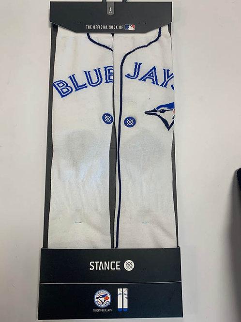 Blue Jays Jersey Socks (White)