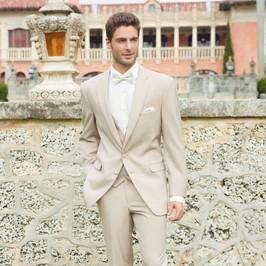 Tan tuxedo by Allure Men