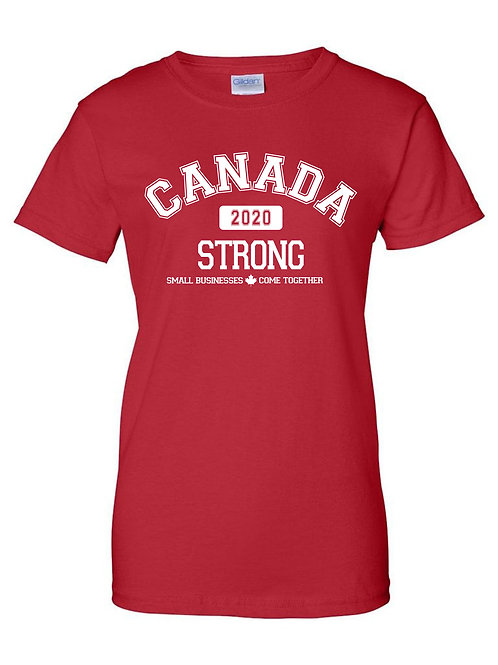 Ladies Canada Strong T-Shirt