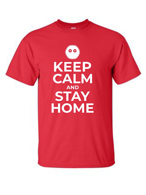 St. Joe's Collection -  Keep Calm and Stay Home T-Shirt