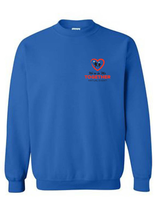 LSTAR: We're in this together crew neck